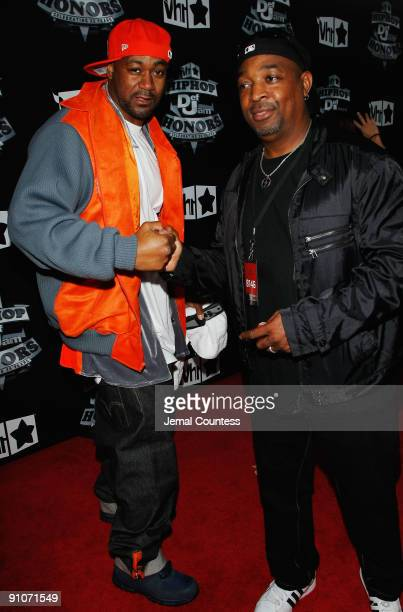 Ghostface Killah and Chuck D attend the 2009 VH1 Hip Hop Honors at the Brooklyn Academy of Music on September 23 2009 in the Brooklyn borough of New...