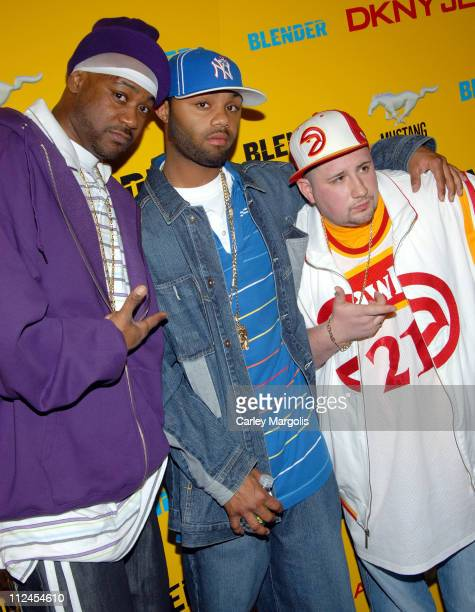 Ghostface Killah and guests during Blender Magazine 5th Anniversary Blowout at Studio 450 in New York City New York United States