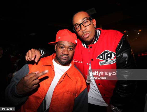 Ghostface Killah and Ludacris seen during Sean Pecas Birthday Celebration at Pink Elephant on September 23 2009 in New York City