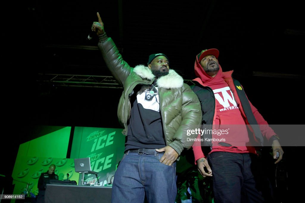 Mtn Dew ICE Launch Party in Brooklyn : News Photo