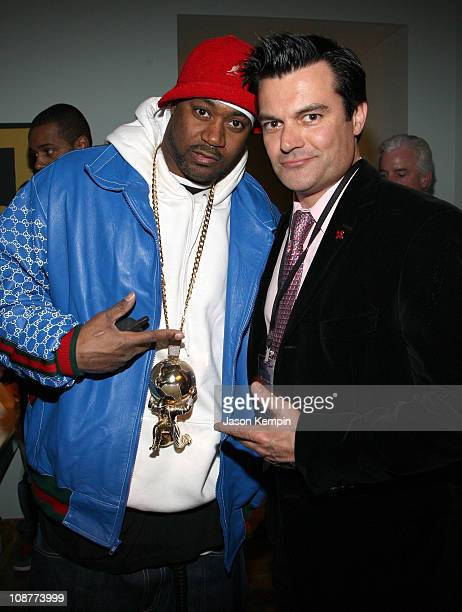Ghostface Killah and Patrick Bradley President of Ripe Digital Entertainment attend the Ripe Digital Entertainment INFronts Party at the Soho House...