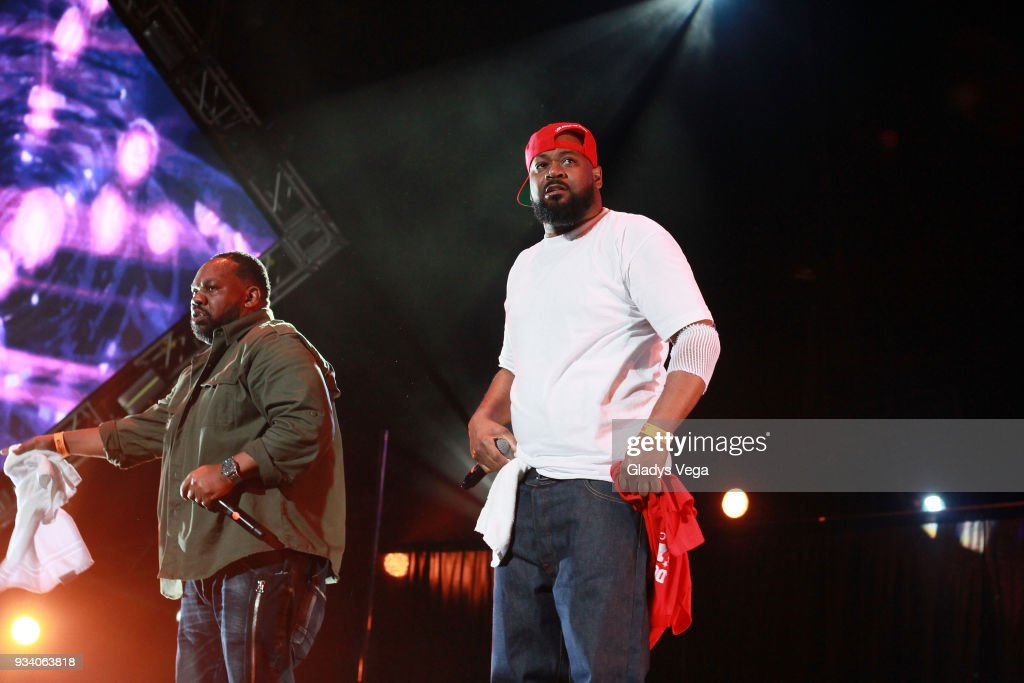 Ghostface Killah and Raekwon perform as part of the benefit concert, 'Power To The People' at Coliseo Jose M. Agrelot on March 18, 2018 in San Juan, Puerto Rico.