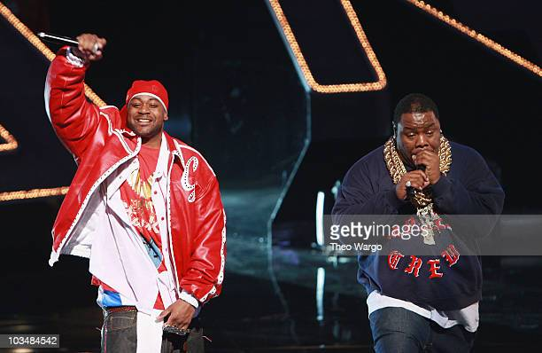 Ghostface Killah and Too Short perform on stage during the 2008 VH1 Hip Hop Honors at the Hammerstein Ballroom on October 2 2008 in New York City