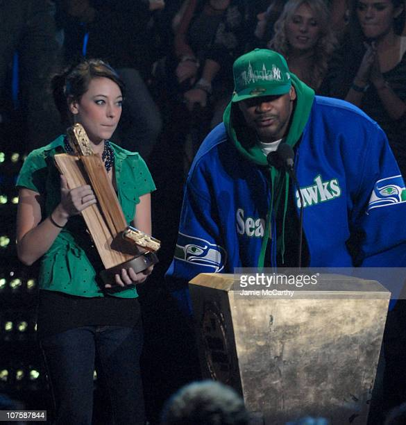 Ghostface Killah during 2006 mtvU Woodie Awards Show at Roseland Ballroom in New York City New York United States