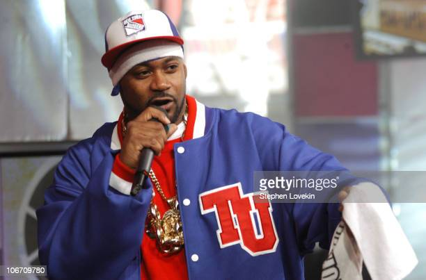 Ghostface Killah during 'Direct Effect' Presents Straight Up HipHop All Week at MTV Studios April 22 2004 at MTV Studios in New York City New York...