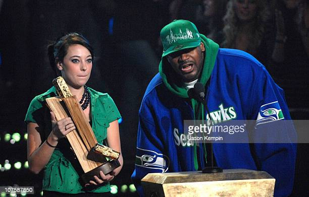 Ghostface Killah during MTVu Woodie Awards At Roseland Ballroom October 25 2006 at Roseland Ballroom in New York City New York United States