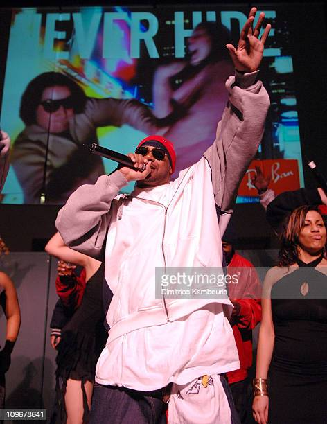 Ghostface Killah during Ray Ban Launches Never Hide Campaign at Guastavino's in New York City New York United States