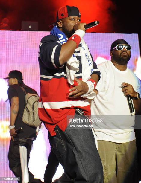 Ghostface Killah of the WuTang Clan performs as part of Rock the Bells 2010 at Shoreline Amphitheatre on August 22 2010 in Mountain View California