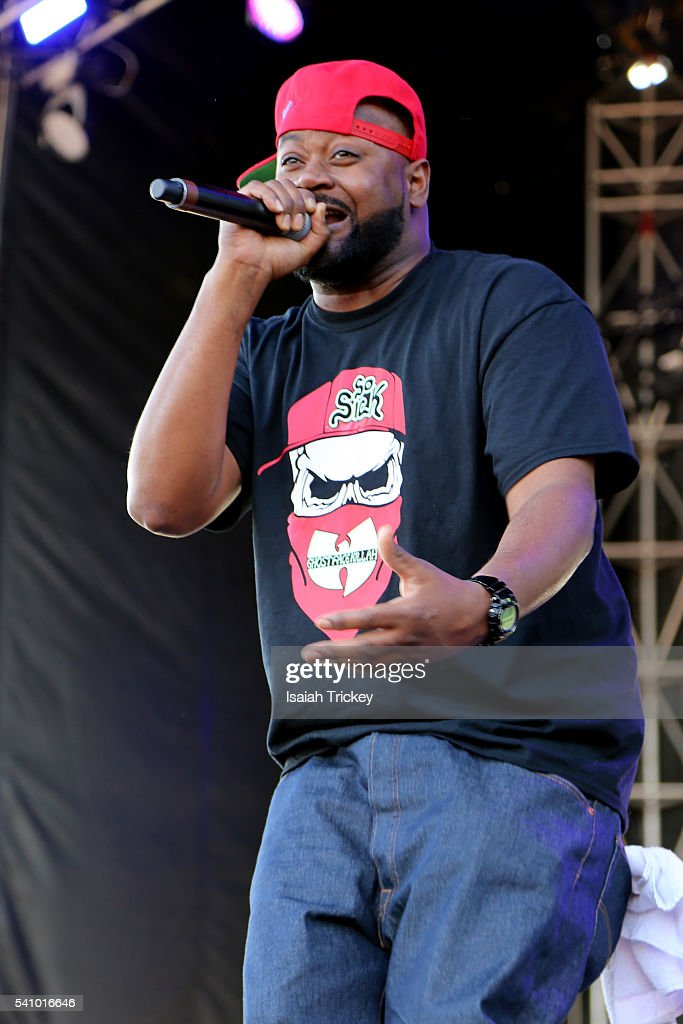 Ghostface Killah perfoms as part of the NXNE festival at the Port Lands on June 17, 2016 in Toronto, Canada.