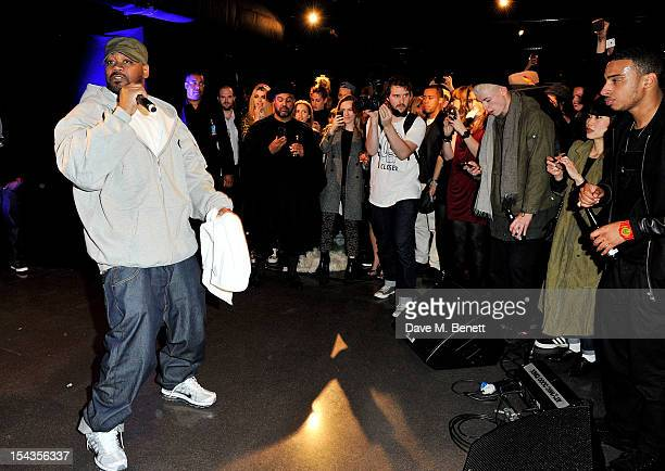 Ghostface Killah performs as Dazed Confused present the Casio GShock 30th Anniversary Awards at the London Film Museum in Covent Garden on October 18...