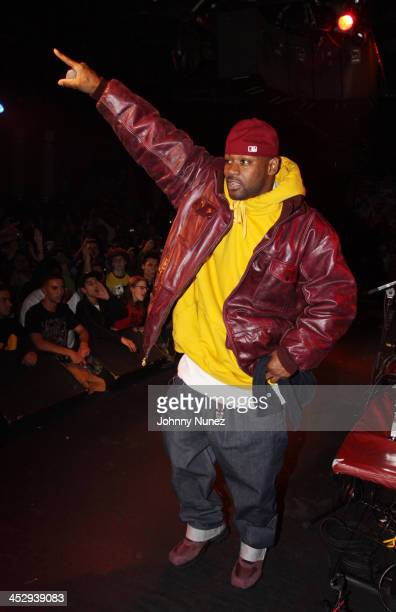 Ghostface Killah performs at BB King Blues Club Grill on November 11 2009 in New York City