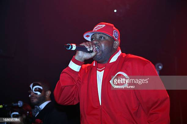 Ghostface Killah performs during the 12 Reasons to Die Tour at Gramercy Theatre on May 13 2013 in New York City