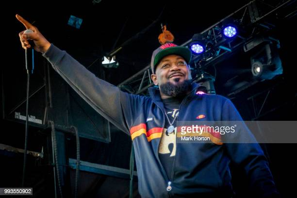 Ghostface Killah performs on day 3 of the RBC Bluesfest at LeBreton Flats on July 7 2018 in Ottawa Canada