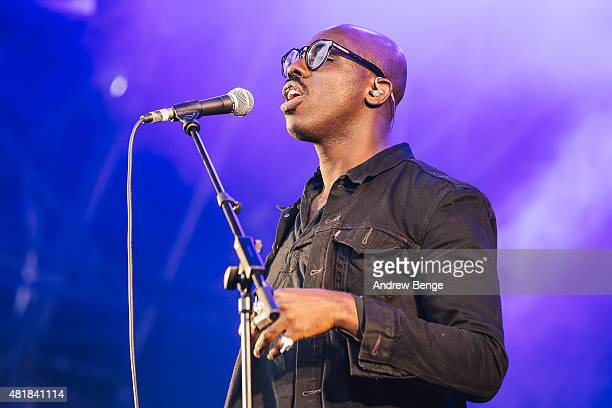 Ghostpoet performs on the Main Stage at Tramlines Festival on July 24 2015 in Sheffield United Kingdom