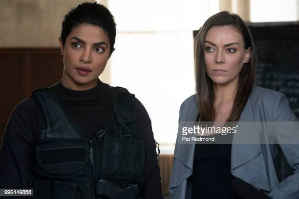 QUANTICO Ghosts Conor Devlin continues to seek revenge as someone from Alex's past comes back into her life on Walt Disney Television via Getty...