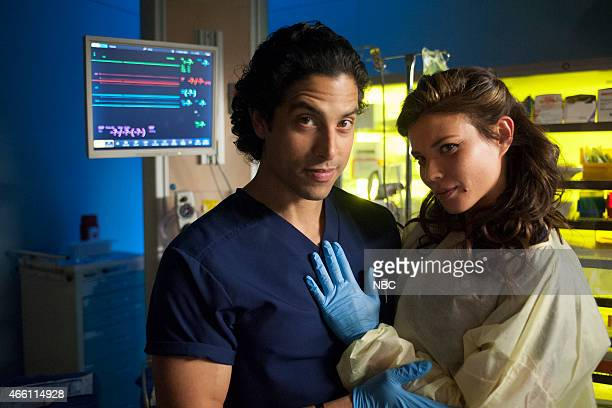 SHIFT Ghosts Episode 206 Pictured Adam Rodriguez as Joey Chavez Jeananne Goossen as Krista BellHart