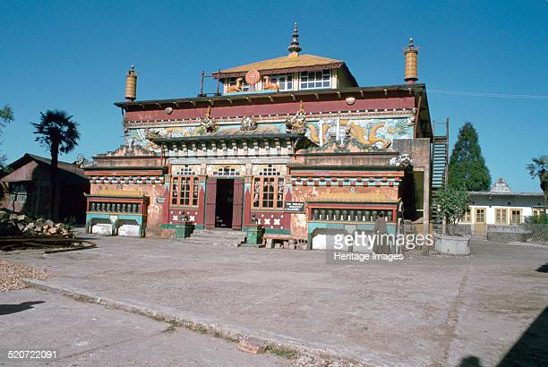 Ghum Monastery near Darjeeling West Bengal India Ghum Monastery is the popular name for the Sampten Choling Buddhist Monastery It was built by Lama...