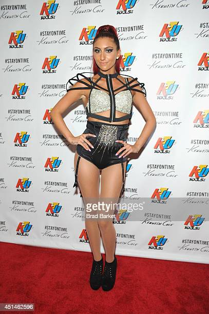 Gia attends 1035 KTU's KTUphoria 2014 presented by Burlington at IZOD Center on June 29 2014 in East Rutherford New Jersey