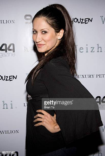 Gia Bay attends the Barking Boutique BidNBuy Fundraiser at 944 Magazine Headquarters on March 6 2009 in West Hollywood California