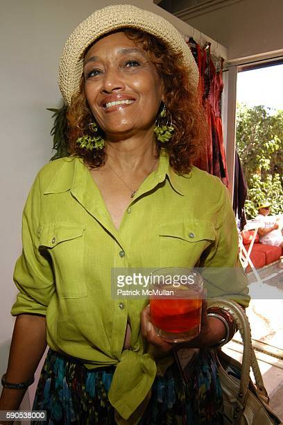 Gia Bryant attends American Photo's Interactive Photography Experience at House of Campari on August 20 2005 in Venice CA
