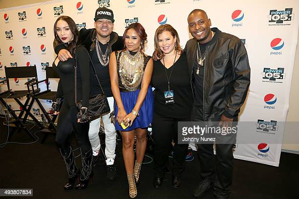Gia Casey DJ Envy of The Breakfast Club radio personality Angela Yee Senior Vice President of Programming for iHeartMedia Thea Mitchem and DJ Self...