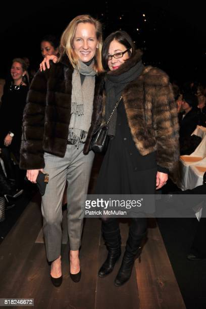 Gia Castrogiovanni and Stephanie Soloman attend MICHAEL KORS Fall 2010 Collection at Bryant Park Tent on February 17th 2010 in New York City