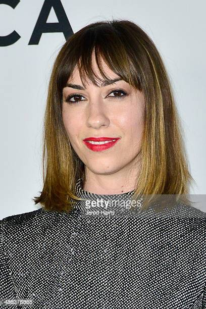 Gia Coppola arrives at Tribeca Film's 'Palo Alto' Los Angeles Premiere on May 5 2014 in Los Angeles California
