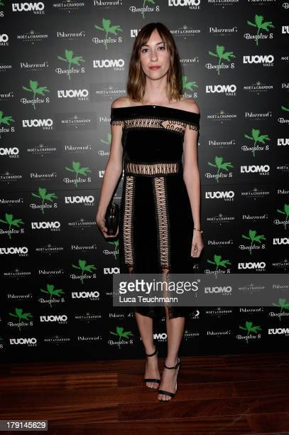 Gia Coppola attends Bungalow 8 James Franco Venice Film Festival Premiere Party for Child of God and Palo Alto during the 70th Venice International...
