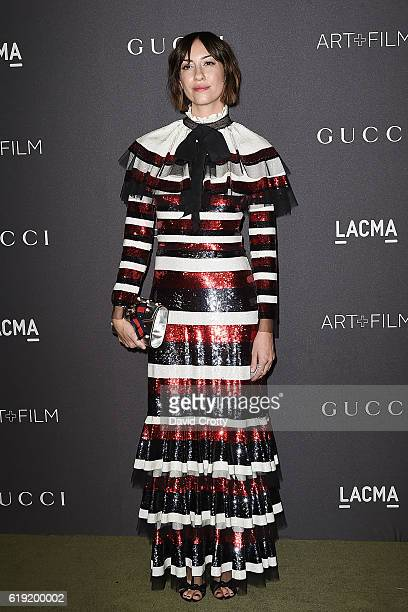 Gia Coppola attends the 2016 LACMA ArtFilm Gala Arrivals at LACMA on October 29 2016 in Los Angeles California
