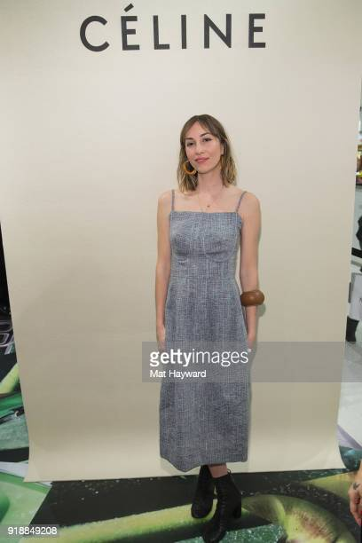Gia Coppola attends the Celine Nordstrom PopUp at Nordstrom on February 15 2018 in Seattle Washington