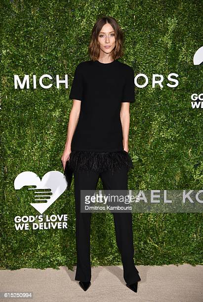 Gia Coppola attends the God's Love We Deliver Golden Heart Awards on October 17 2016 in New York City