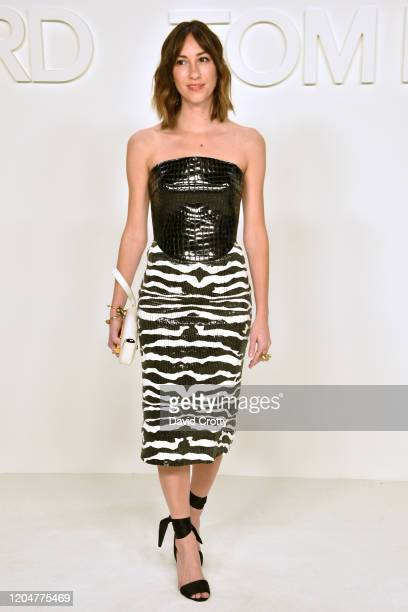 Gia Coppola attends the Tom Ford AW/20 Fashion Show at Milk Studios on February 07, 2020 in Los Angeles, California.