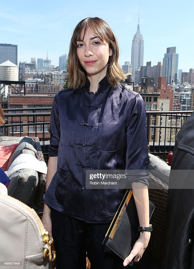 Gia Coppola attends Women's Film Brunch at Company 3 on April 21, 2014 in New York City.