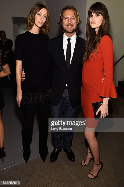 Gia Coppola Lance LePere and Vanessa Moody attend the God's Love We Deliver Golden Heart Awards on October 17 2016 in New York City