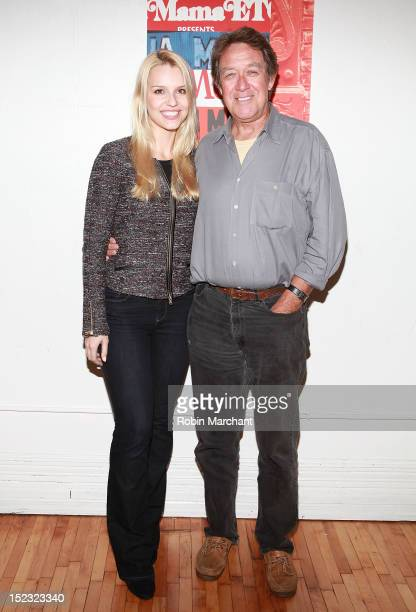 Gia Crovatin and Larry Pine attend the AdA photo call at La MaMa Rehearal Studios on September 18 2012 in New York City