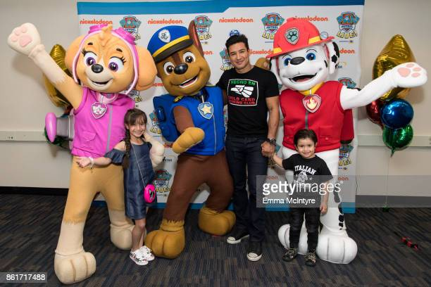 "Gia Francesca Lopez, TV personality Mario Lopez, and Dominic Lopez attend Nickelodeon And VStar Entertainment Group's PAW Patrol Live! ""Race to the..."