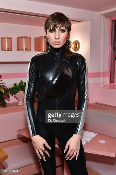 Gia Garison attends the Trans Awareness Dinner at Pietro Nolita on March 13 2018 in New York City