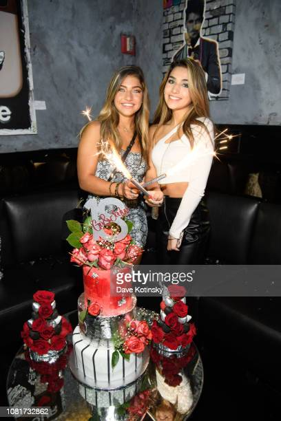 Gia Giudice and Jaylyn Alicia Celebrate 18th Birthday In New York City at Pomona on January 12, 2019 in New York City.
