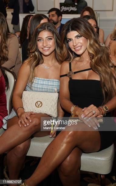 Gia Giudice and Teresa Giudice attend the Envy By Melissa Gorga Fashion Show on May 03, 2019 in Hawthorne, New Jersey.