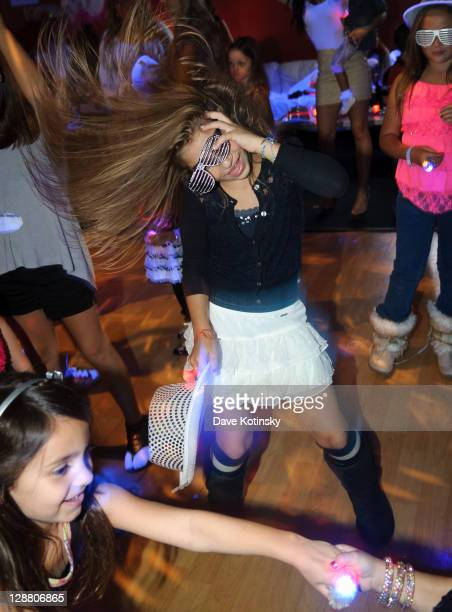 Gia Giudice attends Audriana and Gabriella Giudices' birthday party at Space Odyssey on October 9 2011 in Englewood New Jersey