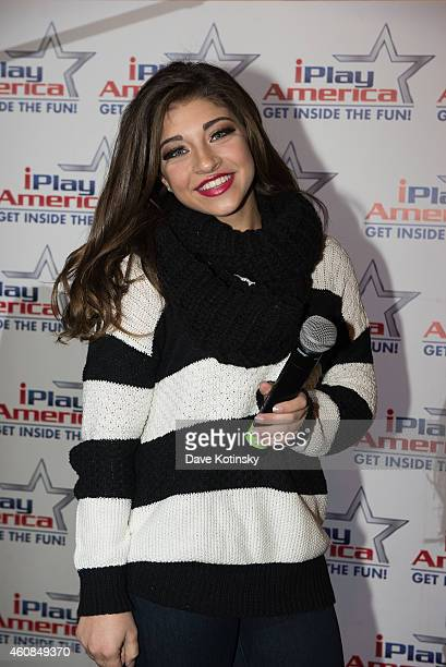 Gia Giudice poses at iPlay America on December 26, 2014 in Freehold, New Jersey.
