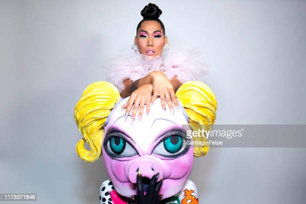 Gia Gunn and MX QWERRRK attend RuPaul's DragCon 2019 at The Jacob K Javits Convention Center on September 08 2019 in New York City
