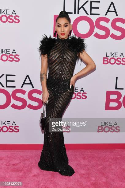 Gia Gunn attends the world premiere of Like A Boss at SVA Theater on January 07 2020 in New York City