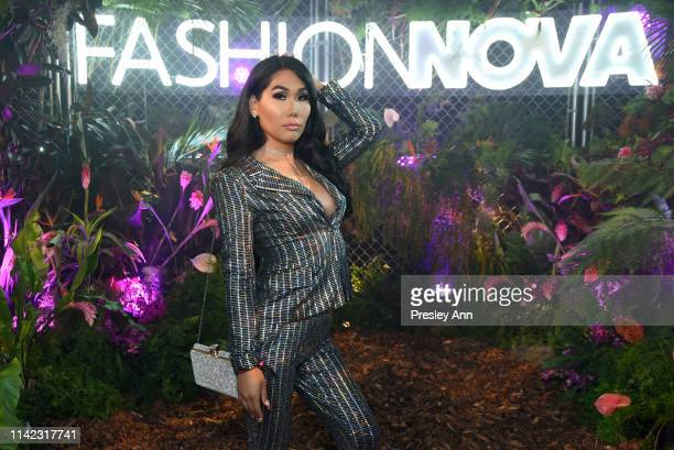 Gia Gunn is seen as Fashion Nova Presents Party With Cardi at Hollywood Palladium on May 8 2019 in Los Angeles California