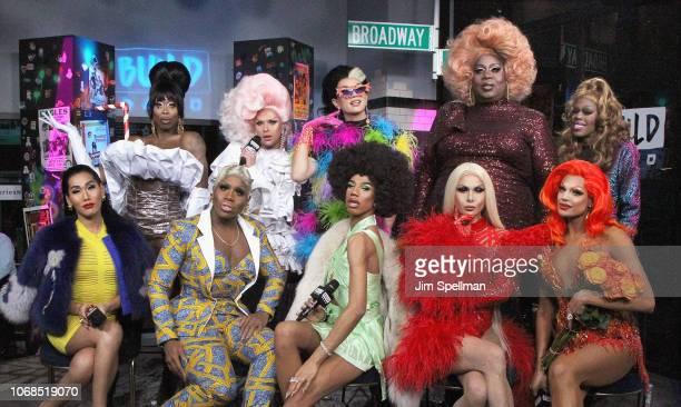 Gia Gunn Monet X Change Naomi Smalls Trinity Taylor Valentina Monique Heart Farrah Moan Manila Luzon Latrice Royale and Jasmine Masters attend the...