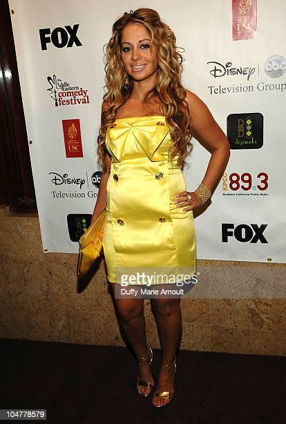 Gia Khay attends the 2nd Annual Middle Eastern Comedy Festival Awards Ceremony at The Laugh Factory on October 4 2010 in West Hollywood California
