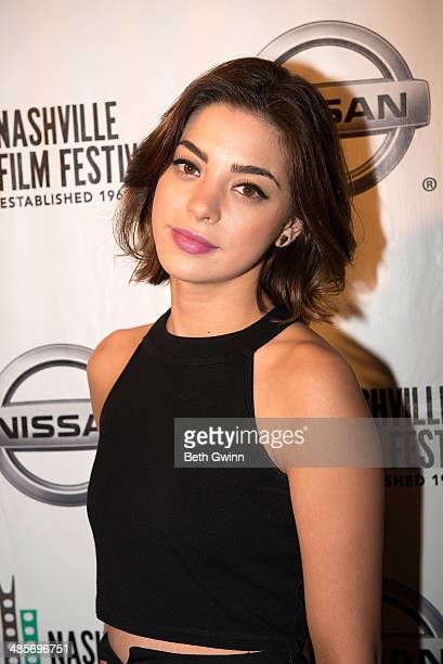 Gia Mantegna attends day 3 of the 2014 Nashville Film Festival at Regal Green Hills on April 19 2014 in Nashville Tennessee