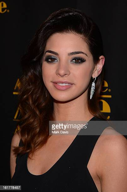 Gia Mantegna attends the '21st Annual Movieguide Awards' held at the Universal Hilton Hotel on February 15 2013 in Universal City California