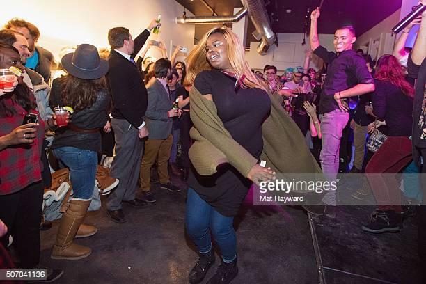 Gia Marie Love celebrates the film Kiki during the Sundance Film Festival at Kickstarter Green Room on January 26 2016 in Park City Utah