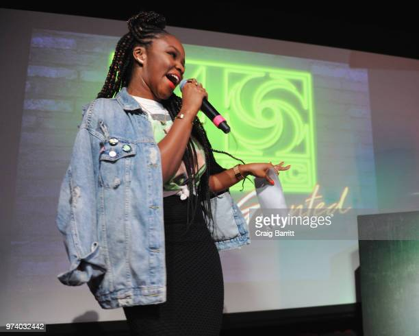 Gia Peppers hosts the Atlantic Records 'Access Granted' Showcase on June 13 2018 in New York City